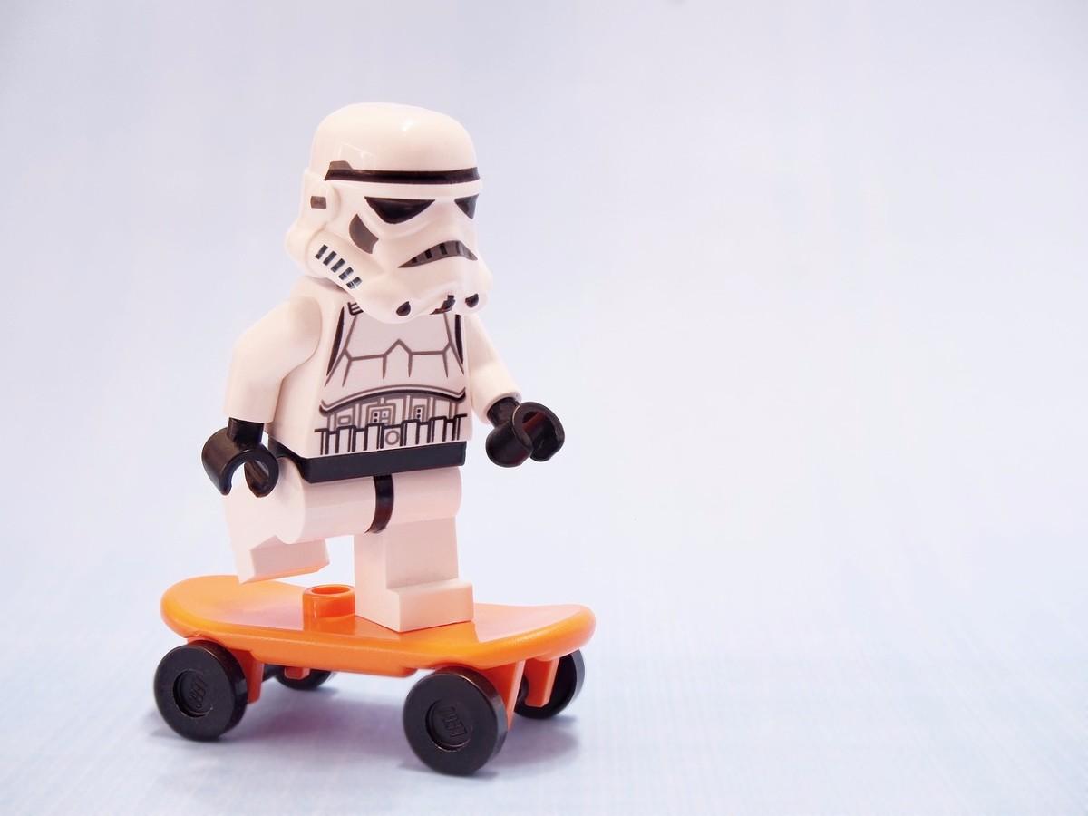stormtrooper Skateboard