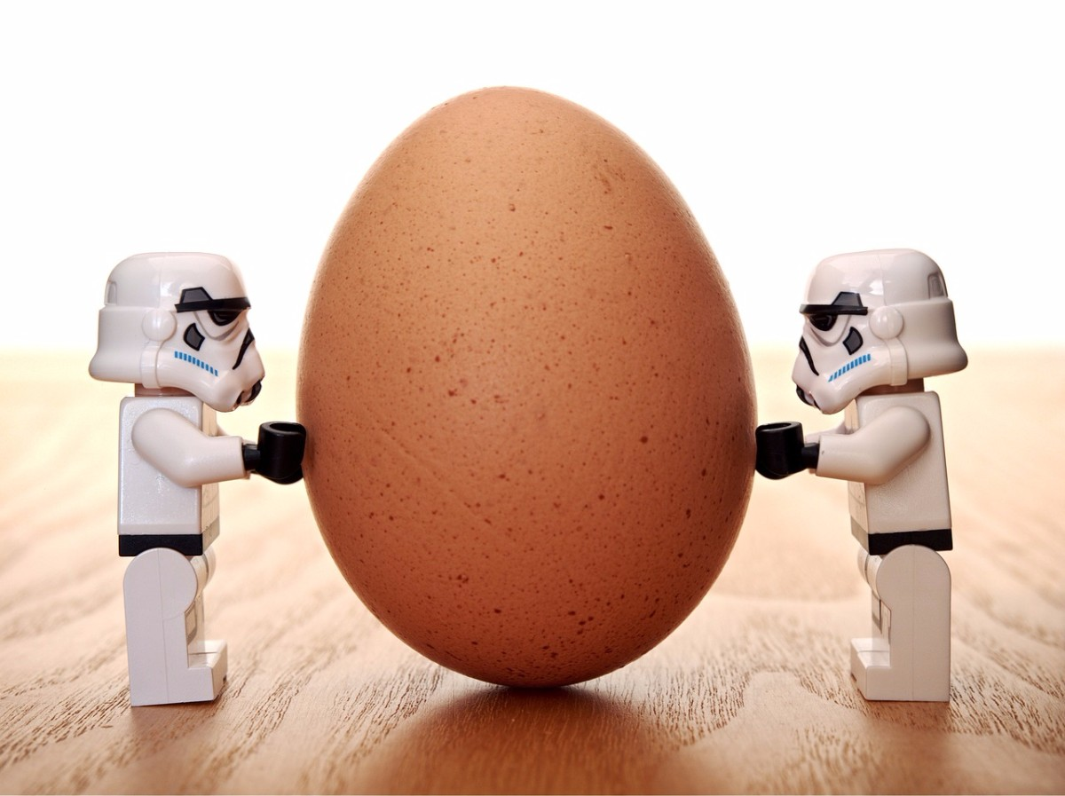 stormtrooper Between The Egg