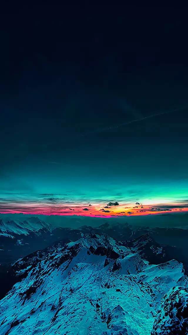 sunset-in-mountains