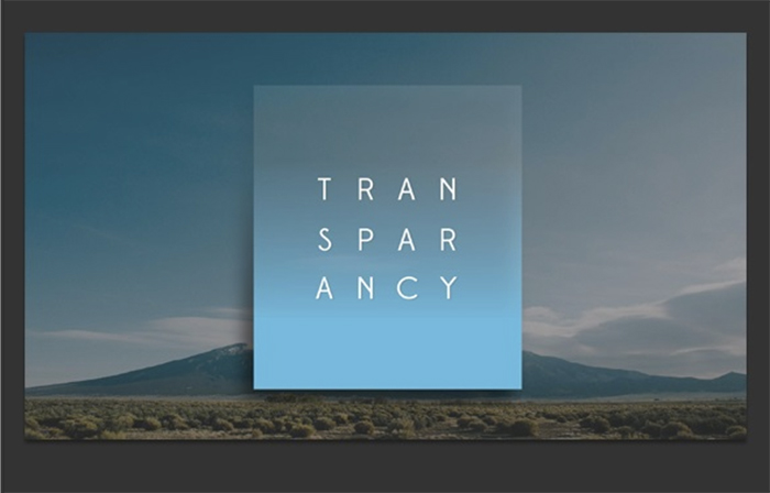 transparency-slides