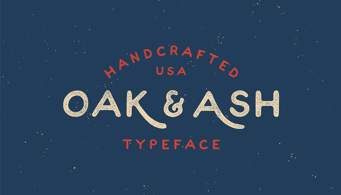 vintage fonts and retro