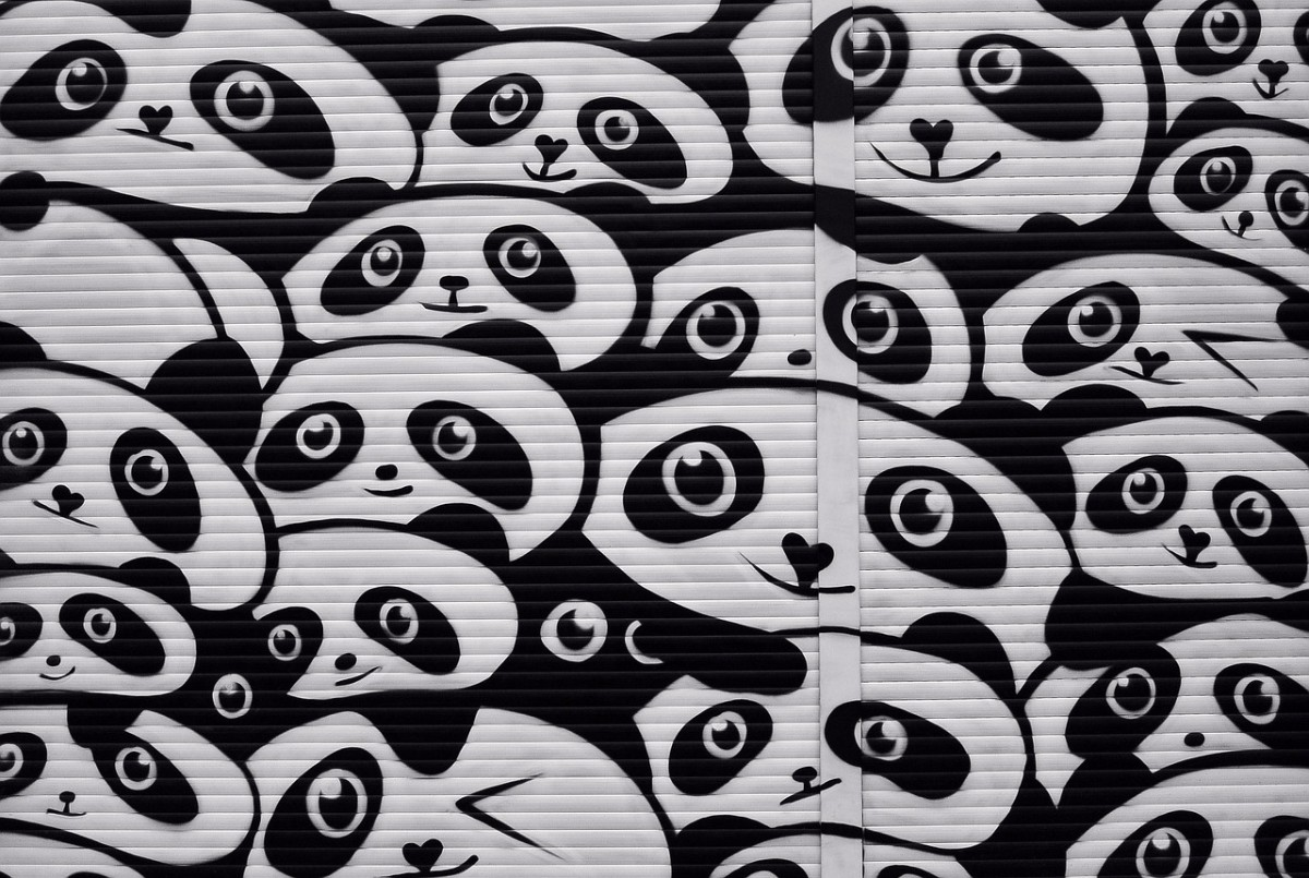 wallpaint Panda