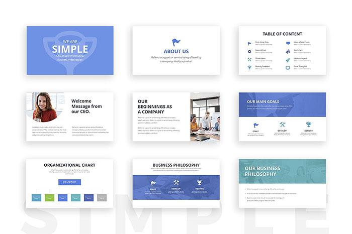 1-Simple-Google-Slides-Template