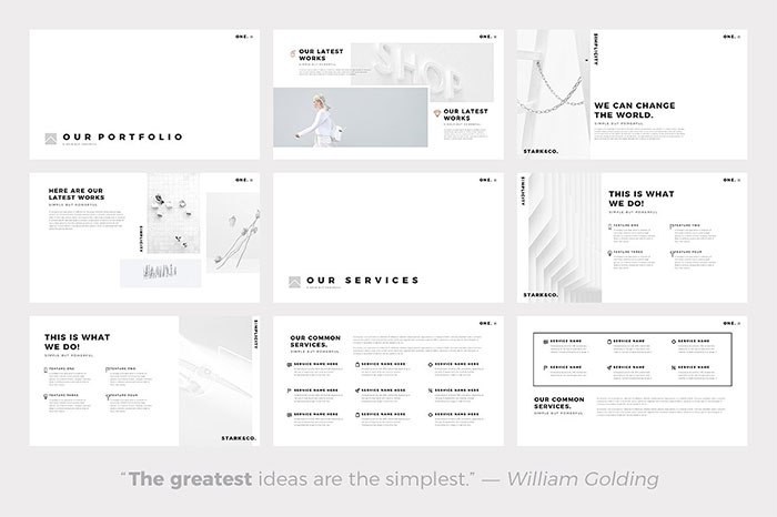 1-one-minimalist-clean-google-slides