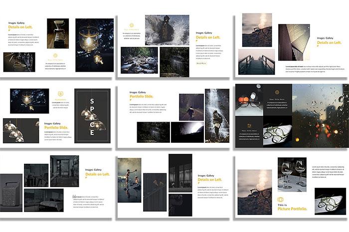 2-Space-Google-Slide-Template