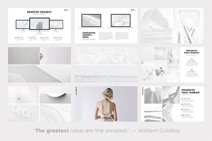 2-one-minimalist-clean-google-slides