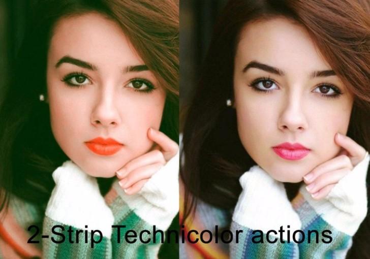 2 strip Technicolor