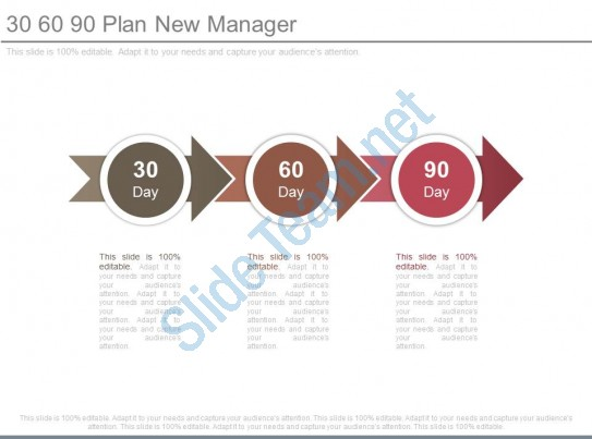 30 60 90 Plan New Manager