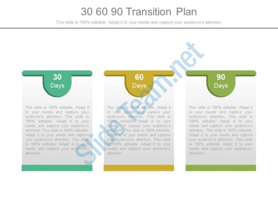 30 60 90 Transition Plan