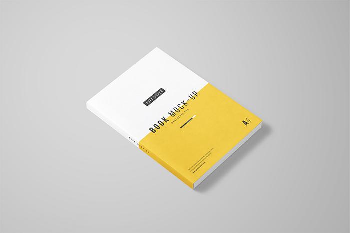A4-Book-Mockup-free
