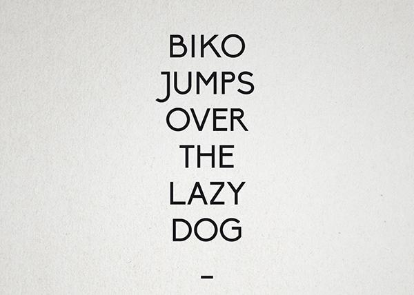 Biko Hipster Font