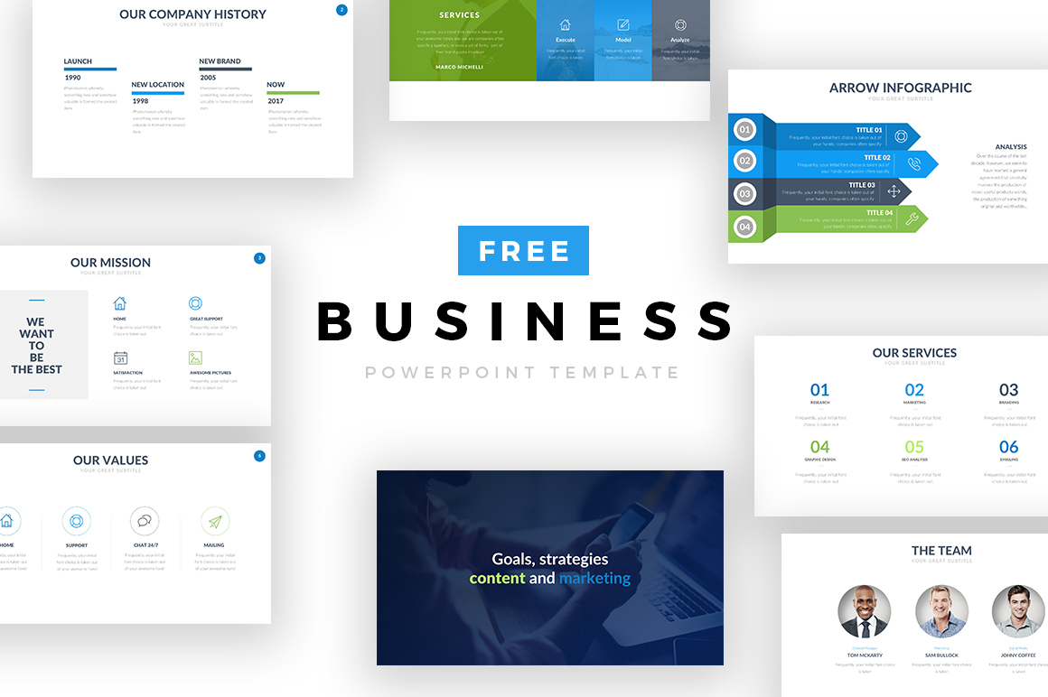 Business-Free-Powerpoint-Presentation