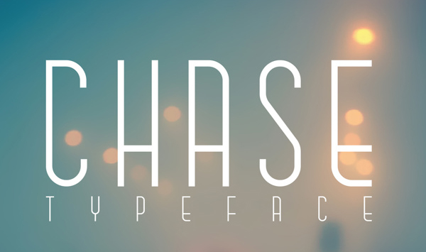 Chase Typeface Font