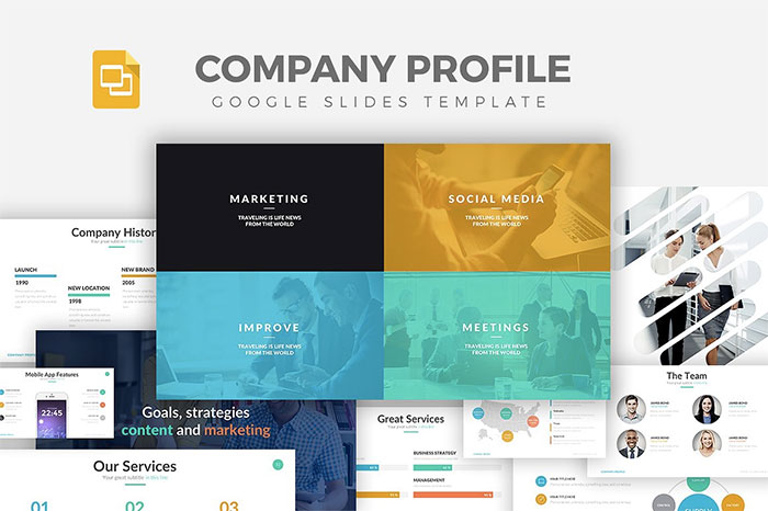 Company-Profile-Google-Slides