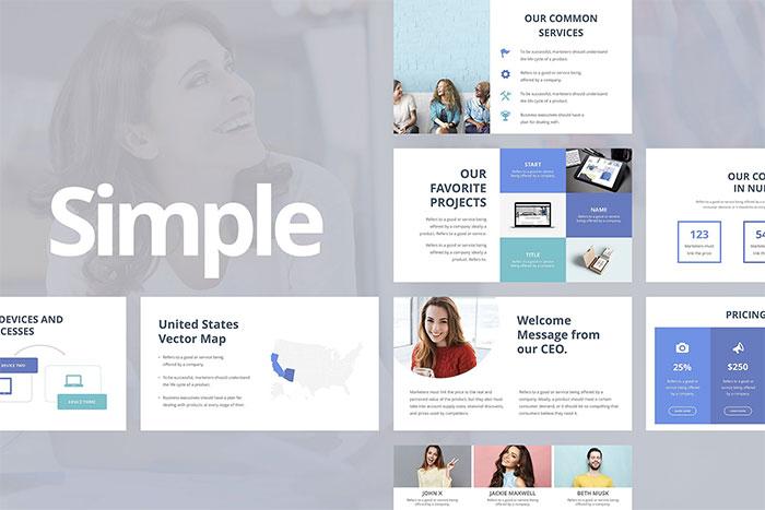 Simple-Google-Slides-Template