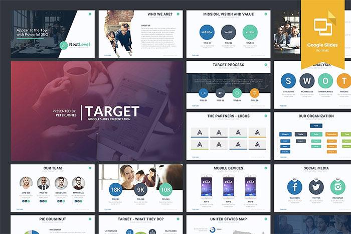Target-Google-Slides