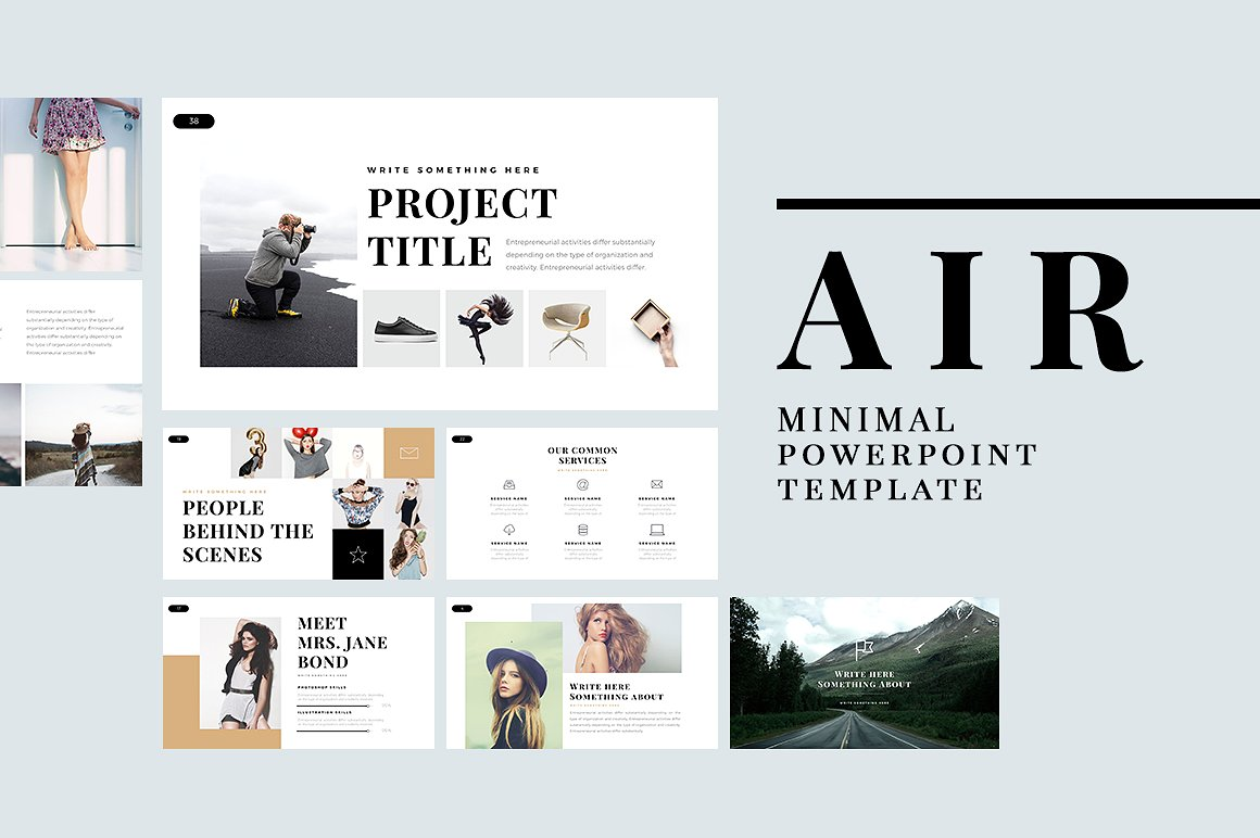 air-minimal-powerpoint-template