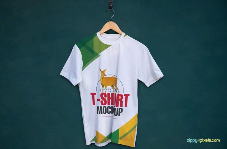 Amazing Free T Shirt Mockups Round Neck