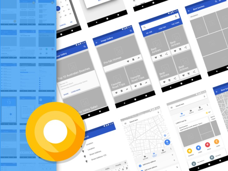 Android Wireframing Kit Sketch Resource