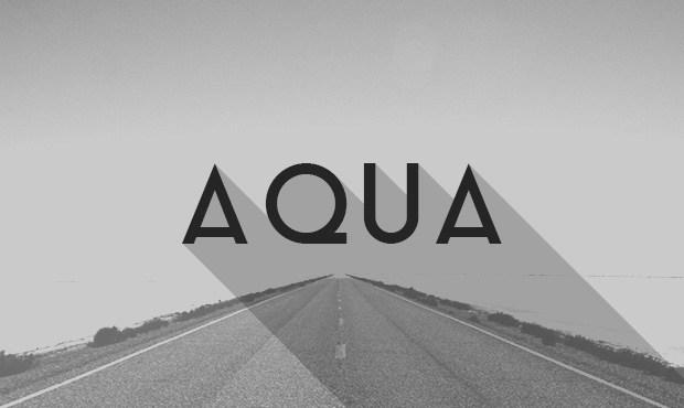 Aqua Free Font