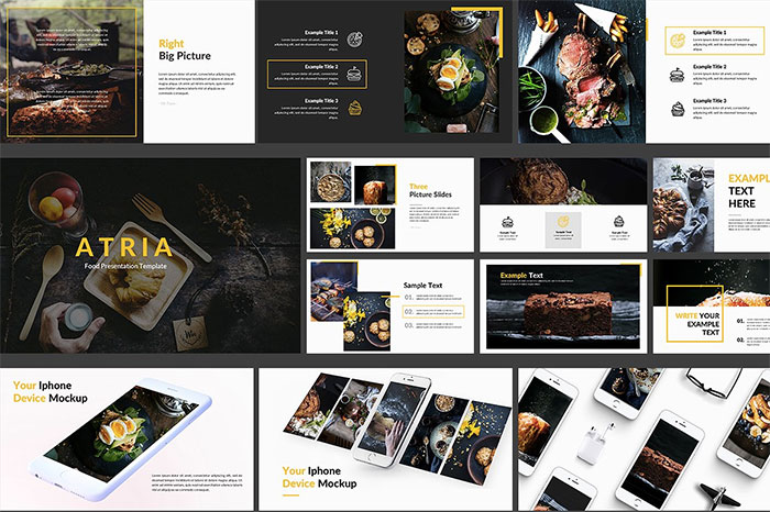 atria-Food-Google-Slide-Template