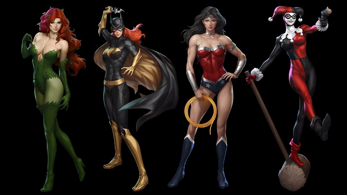 Batgirl Harley Quinn Poison Ivy Wonder Woman