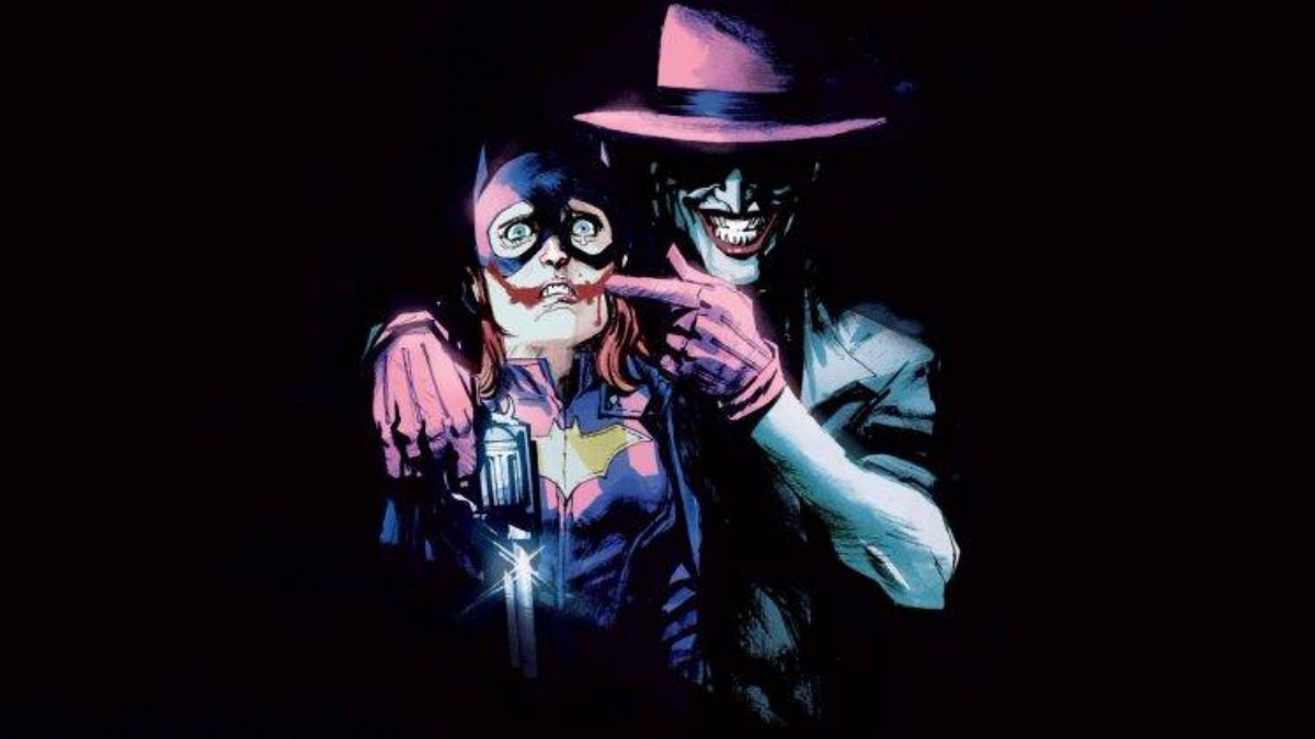 Batgirl Joker DC Comics Wallpaper