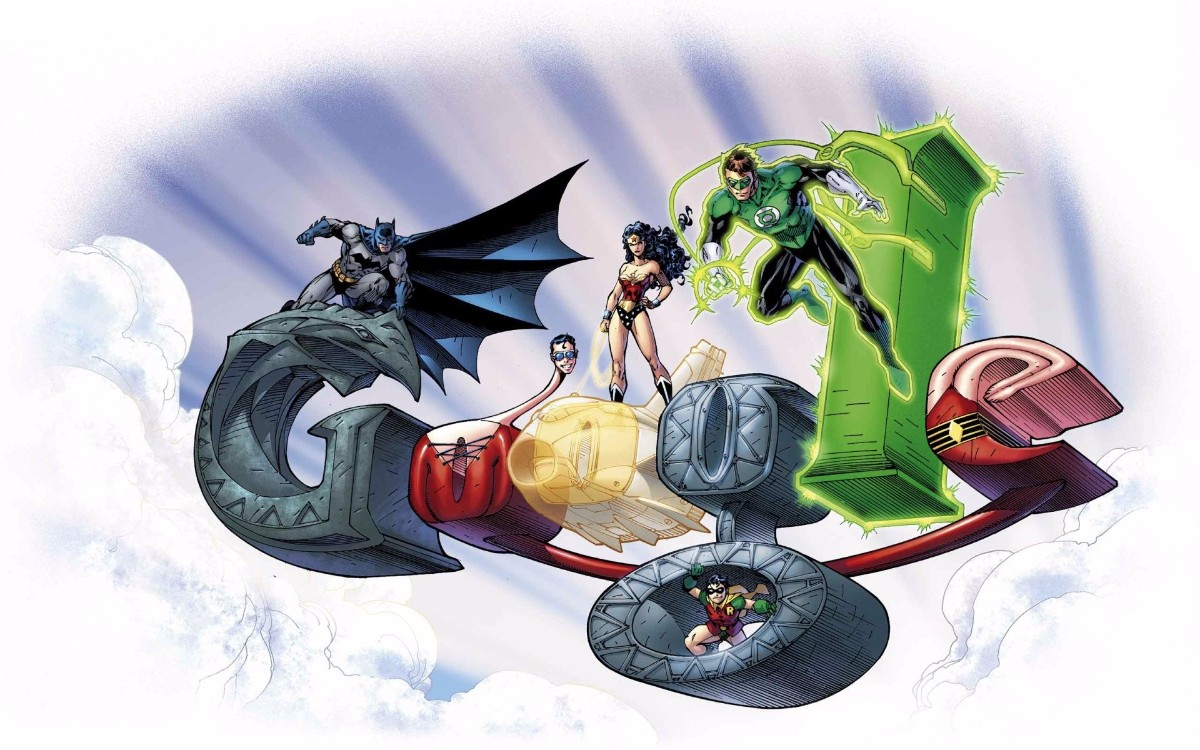 Batman Green Lantern Robin Wonder Woman