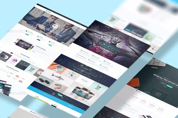 Best Website Mockup PSD Templates