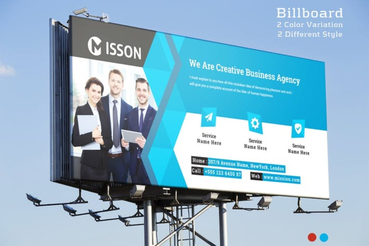 BillBoard MISSION MOCKUP