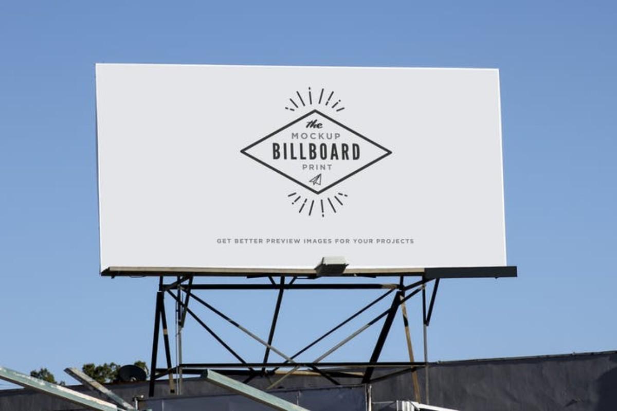 Billboard Street Indie Print MockUp