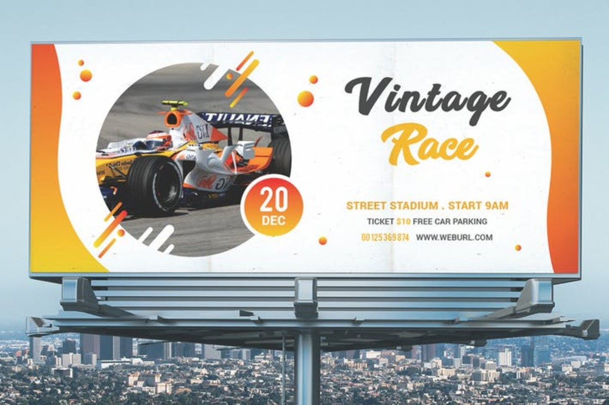 Billboard Vintage Race
