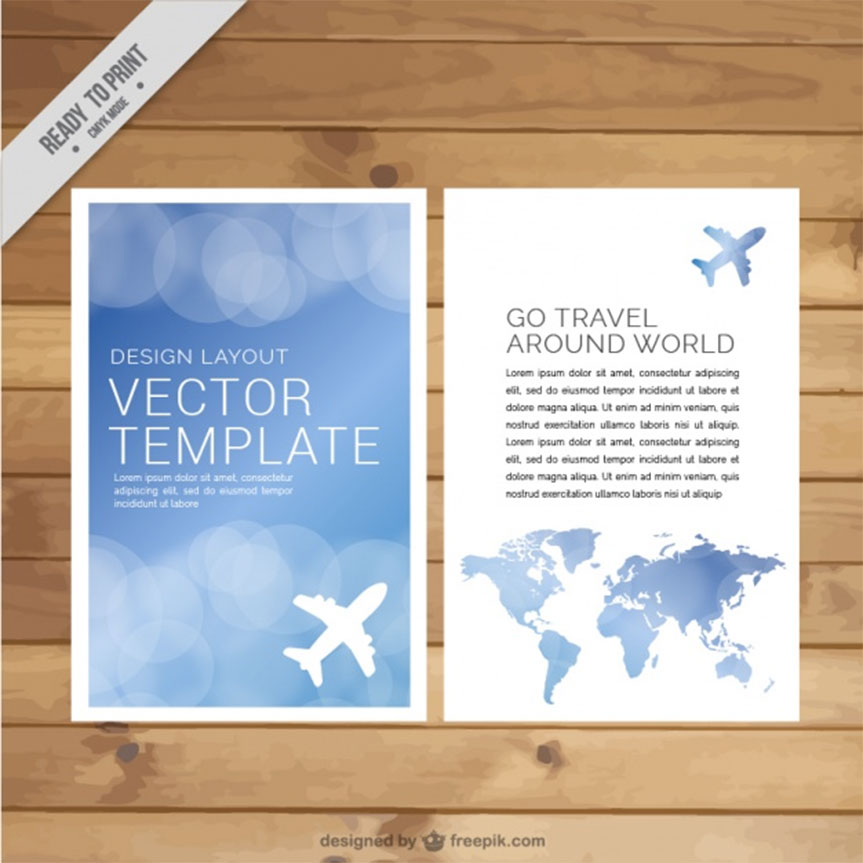blue-vector-brochure
