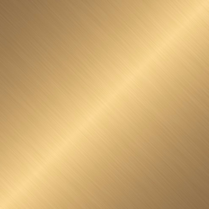 Brushed Gold Texture On An Angle