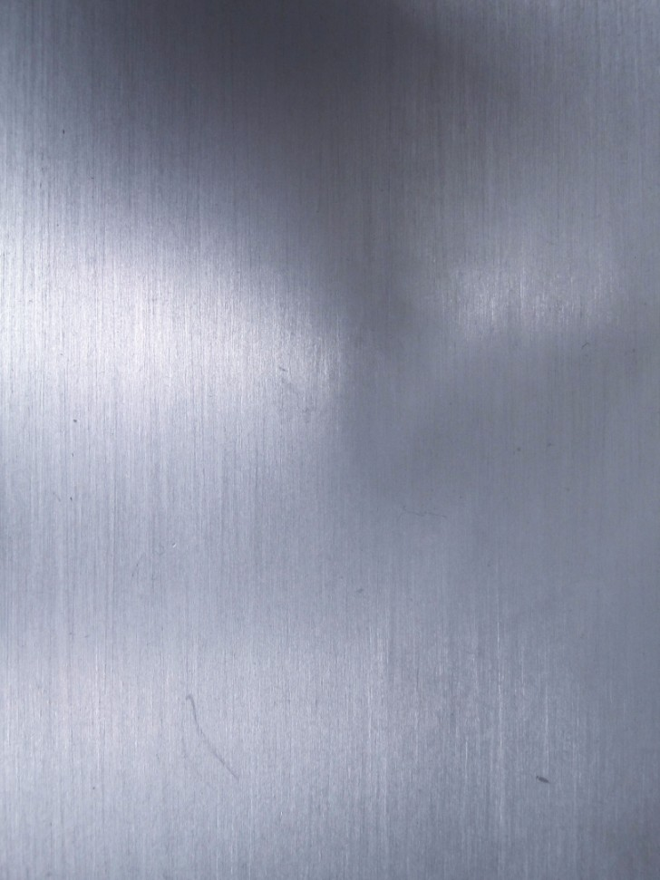 brushed metal texture polished wall surface