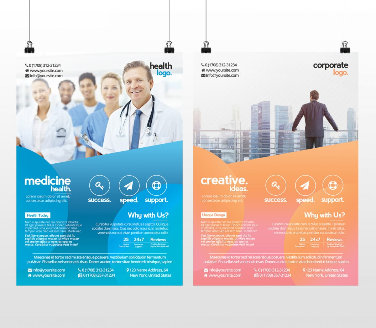 25 free business flyer templates for photoshop mashtrelo business and medicine health accmission Images