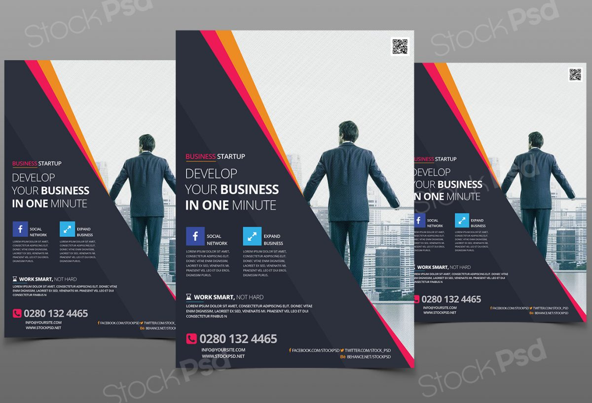 Business Flyer Vol3 Free PSD