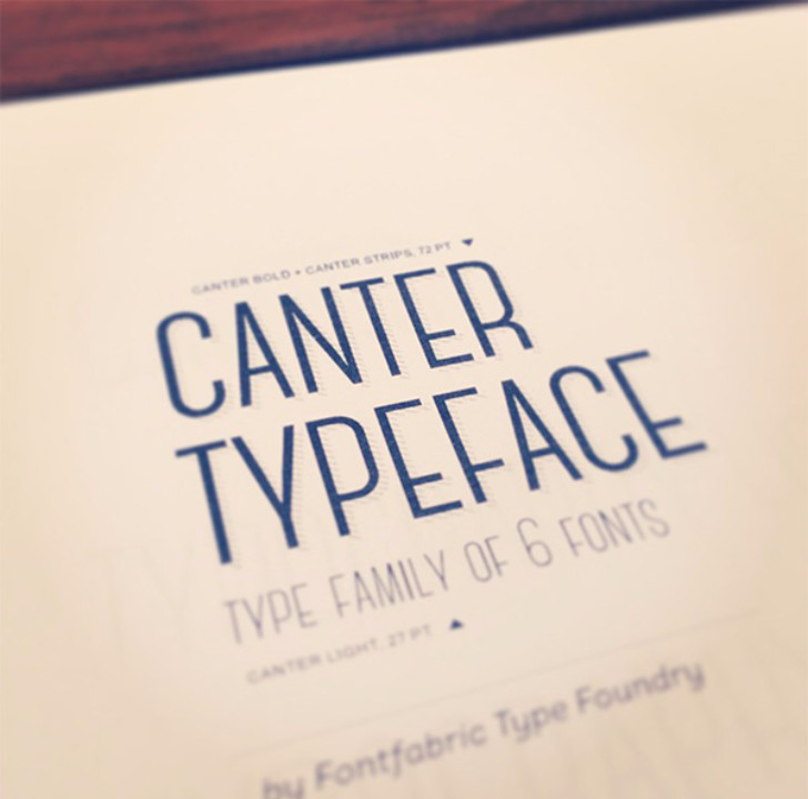Canter free fonts