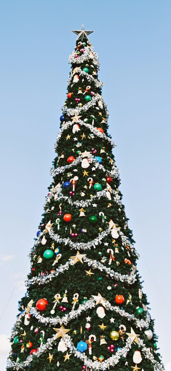 christmas tree iphone wallpaper 2