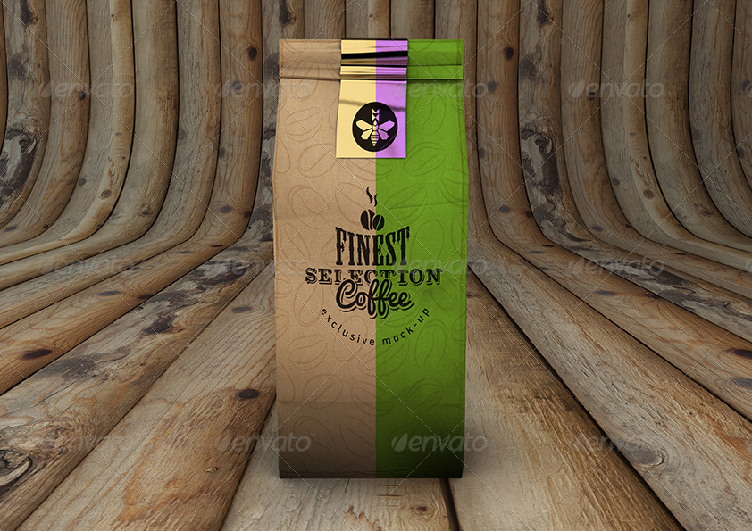 Coffee Bag MockUp Packaging