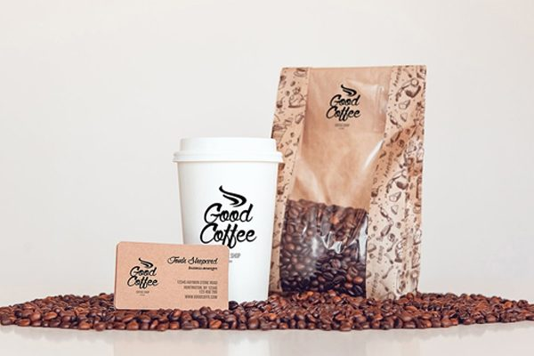 coffee bag mockups