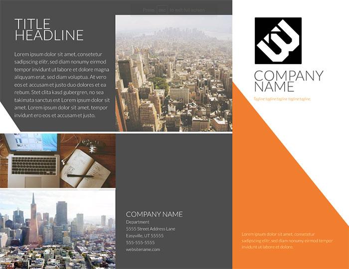 contempo-modern-tri-fold-brochure