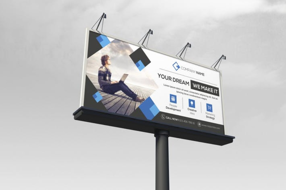 Corporate Billboard MOCKUP