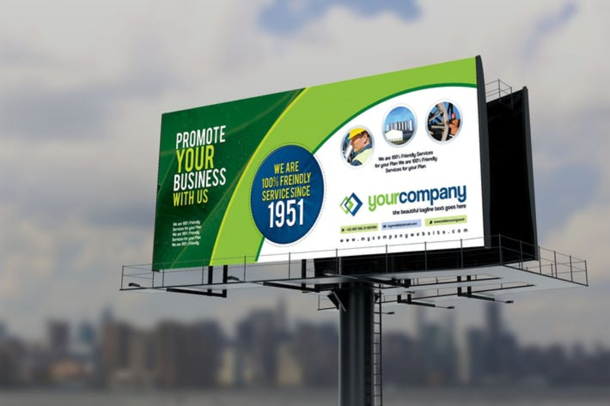 Corporate Billboard Sinage