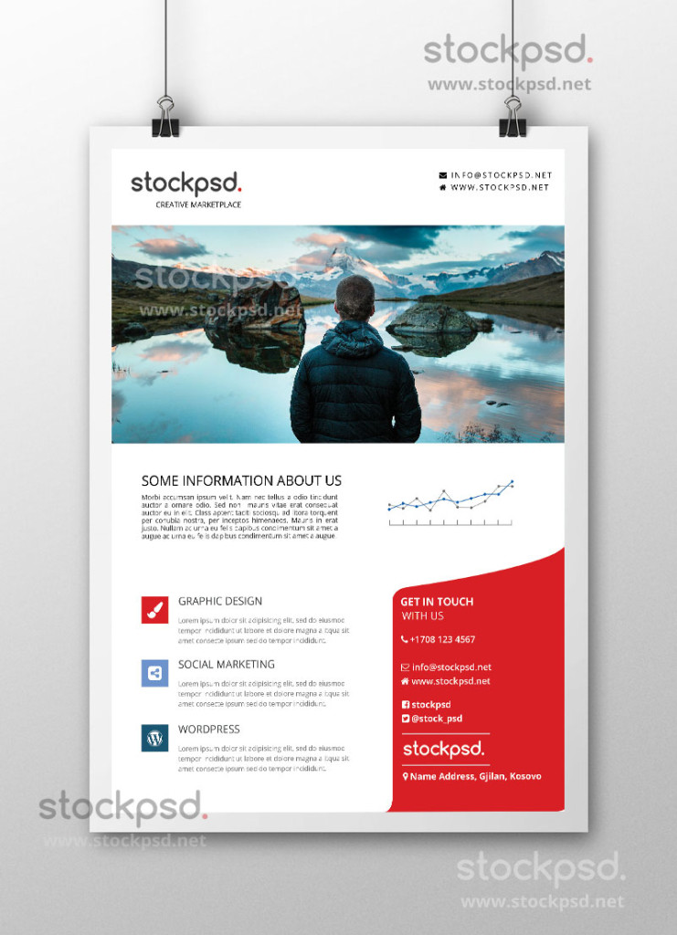 Corporate Business Free PSD Flyer