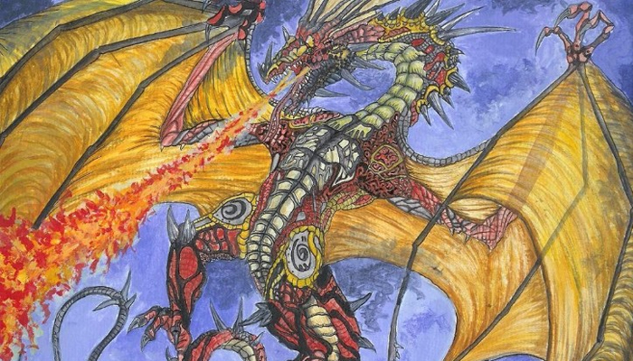 dragon drawings