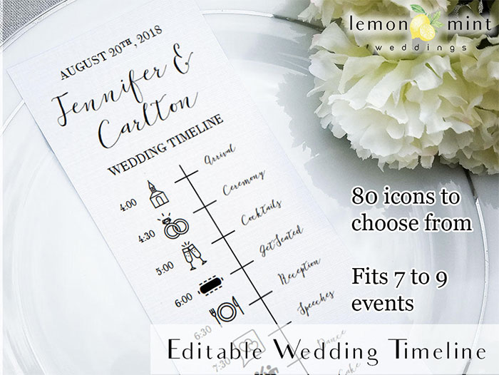 editable-wedding-timeline-card-printable