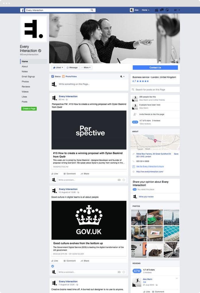 Facebook Desktop and Mobile mockup
