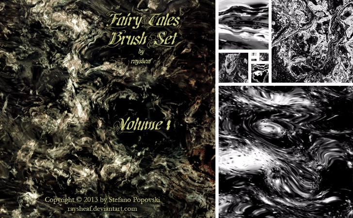 Fairy Tales Brush Set 01