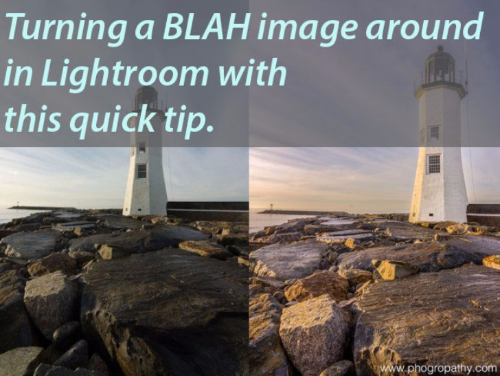 Fixing a boring photograph with Lightroom